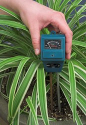 plant moisture meter, watering house plants